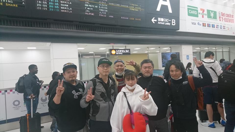 無事に日本に帰ってきました。